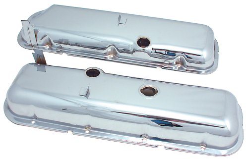 Spectre Performance 5262 Chrome Valve Cover for Big Block Chevy with Power Brakes