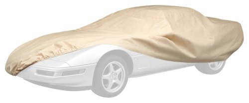 Covercraft Ready-Fit Deluxe 380 Series Long Car Cover, Tan