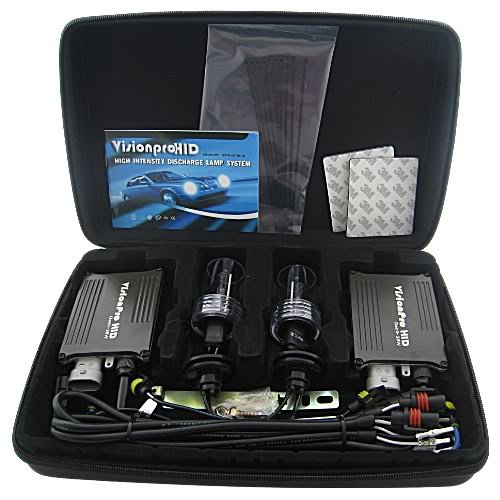 VisionPRO Gen II 6000K (Crystal White) H9 Xenon HID Conversion Kit 2 Year Warranty, Fits 2011 Chevrolet Corvette Low Beam