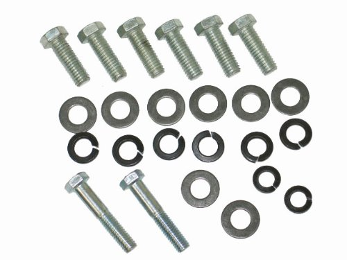 1968-1972 Corvette Front Bumper Mount Bolt Kit
