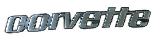1976 Early Corvette Rear Bumper Emblem