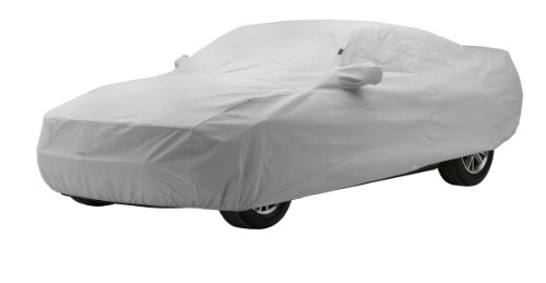 Covercraft Custom Fit Car Cover for Chevrolet Corvette (Technalon Evolution Fabric, Gray)