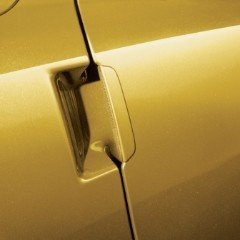 2005-2013 Chevrolet Corvette Outside Yellow Door Handles by GM 17802412