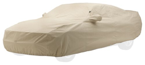 Covercraft Custom Fit Car Cover for Chevrolet Corvette (Technalon Evolution Fabric, Tan)
