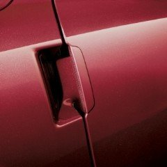2005-2013 Chevrolet Corvette Outside Painted Crystal Red Door Handle GM 19166217