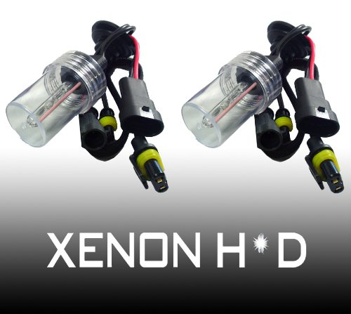 Hipro Power H10, 9140, 9145 8000K HID Xenon Replacement Light Bulbs - 1 Pair