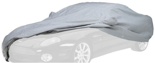 Covercraft Custom Fit Car Cover for Chevrolet Corvette (Noah Fabric, Gray)