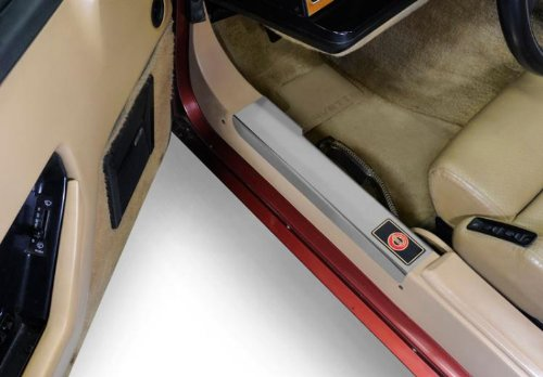 C4 Corvette Chrome Door Sill Guards Fits: 84 through 87 Corvettes