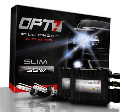OPT7® Blitz Slim HID Xenon Conversion Kit - 9006 (10000K, Deep Blue) - 2 Year Warranty