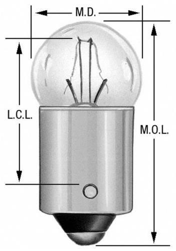 Wagner Lighting 53 Miniature Interior & Exterior Light Bulb