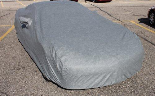 Leader Accessories Gray Custom 7 Layer Car Cover Fit 2005-2013 Corvette C6 Z06 Coupe Convertible Fastback