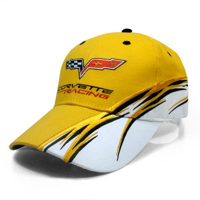 Corvette C6 Racing Flash Yellow Cap