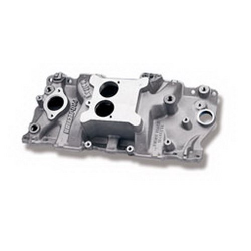 Holley Performance 300-66 EFI Intake Manifold; High Rise Dual Plane Design; w/EGR; For Use w/Cast Iron Heads; Street/Strip Use Only;