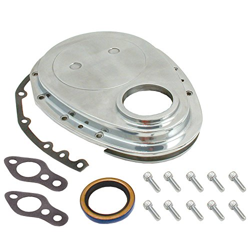 Spectre Performance 4935 Aluminum Timing Cover Kit for Small Block Chevy