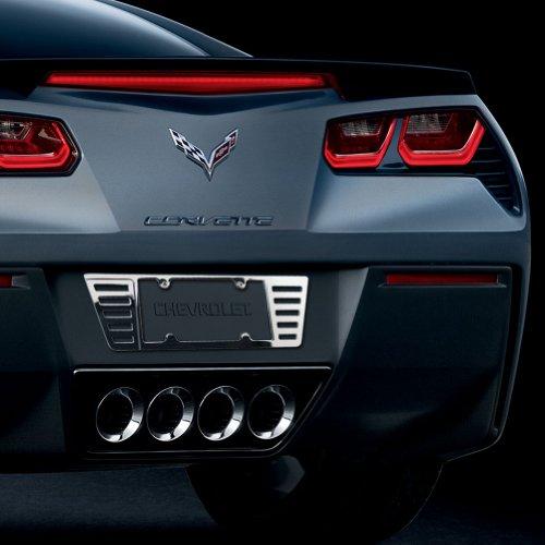 Corvette License Plate Frame - Billet Chrome C5,C6 C7