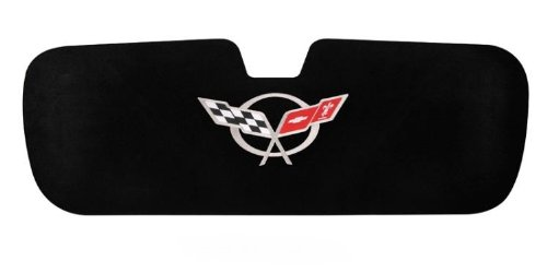 C5 Corvette Trunk Lid Liner Silver Emblem Fits: 97 through 04 FRC ZO6 and Convertible Corvettes