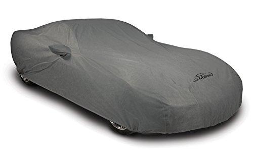 Coverking Custom Fit Car Cover for Select Chevrolet Corvette Models - Coverbond 4 (Gray)