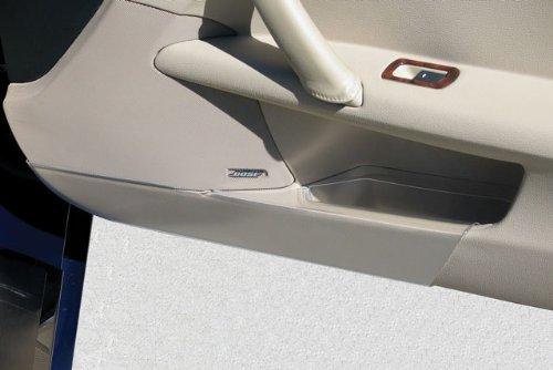 2005-2013 Corvette Door Panel Clear Kick Guards Pair