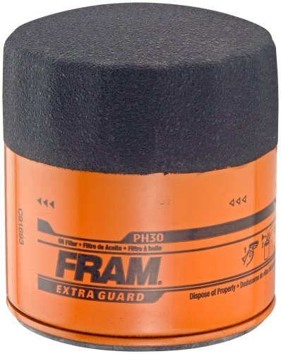 Fram PH30 Extra Guard Passenger Car Spin-On Oil Filter (Pack of 2)
