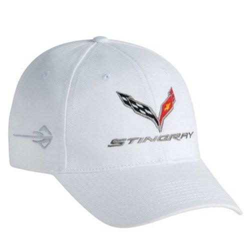 2014 Chevrolet Corvette C7 Stingray Hat White