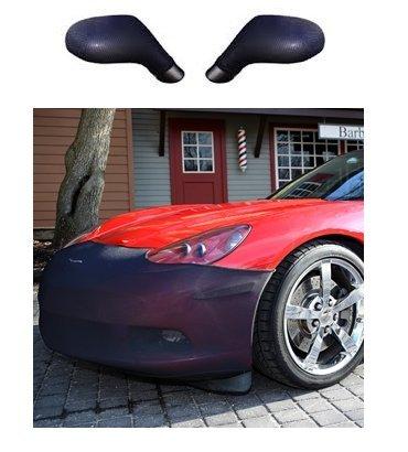 C6 Corvette Bra Front Bumper Mask & Mirror Mask Package : 2005-2013 C6