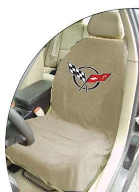 Seat Armour SA100COR5T Tan 'Corvette C5' Seat Protector Towel