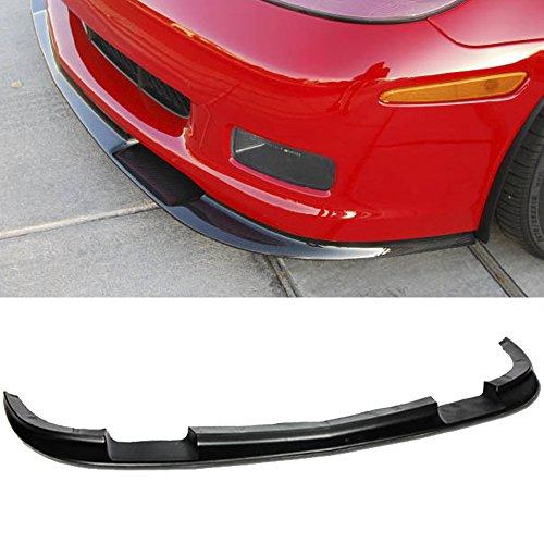 Fit 05-13 Chevrolet Corvette C6 Z06 ZR1 Style ABS Front Lip Kit Splitter Bumper 2005 2006 2007 2008 2009 2010 2011 2012 2013