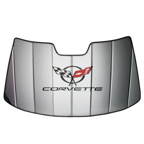 SR1 Performance Corvette Accordion Style Sunshade - Insulated C5